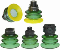 SAS Automation Introduces Additional Size Offerings of Dual Durometer Vacuum Cups