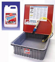 Table Top Parts Cleaner removes grease from small parts.