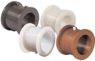 Hanger Bearings are offered in wood and polyethylene types.