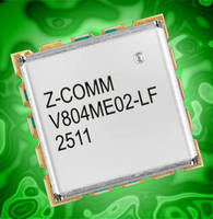 RoHS-Compliant, S-Band VCO features low phase noise.
