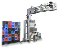 Dairy Case Unstacker operates at up to 85 cpm.