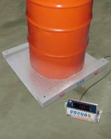 Portable Drum Scale features live side rails.