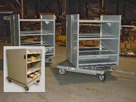 Rotational Pick and Delivery Carts Offer Lean Handling
