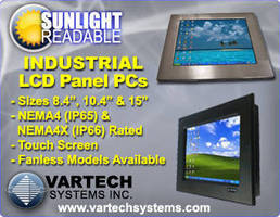 Sunlight Readable Industrial Panel PCs