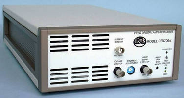 High Voltage Amplifier combines high speed with precise control.