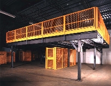Wire Partition System provides seamless integration.