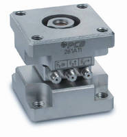 Dynamic Force Sensors provide triaxial measurement.