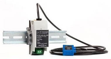 Current Transducers monitor usage of loads up to 2,000 A.