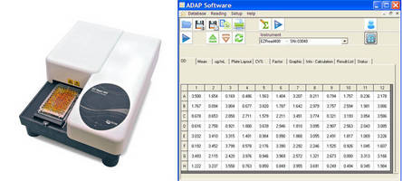 Free ADAP 2.0 Software Upgrade with Biochrom's EZ Read 400 Research Reader