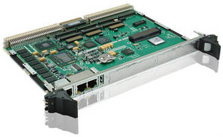 VME Single Board Computer is offered in 4 ruggedization levels.