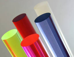 Cast Acrylic Rod comes in standard and custom colors.