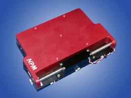 Linear Shaft Motor Stage offers nanoprecision.