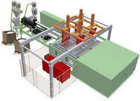 Pallet Molding System employs dual stack mold technology. .