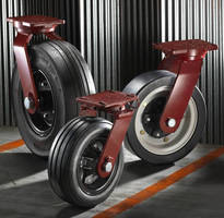 Heavy-Duty Casters provide smooth ride over uneven surfaces.