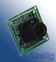 Embedded Camera Module transfers camera images via serial or NTSC.