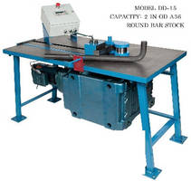Rotary Benders operate on rotary draw bending principle.