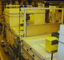 Reciprocating Drawer Oven Heats Felt Sheets for the Automotive Industry
