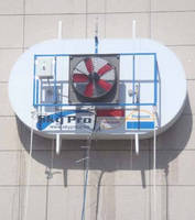 Window/Building Washing System is automated solution for high-rises.