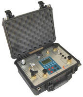 Portable Pressure Calibrator uses dual independent pumps.
