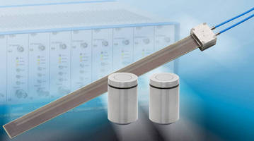 Cylindrical Capacitive Gap Sensor offers resolutions to 90 nm.