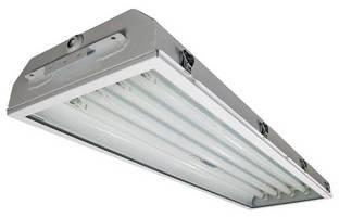 Energy Efficient Fluorescent Luminaires suit hazardous areas.