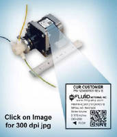 OEM Pumps feature 2D barcoding for identification.