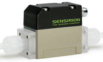 Liquid Flow Sensor serves low-volume dosing applications.
