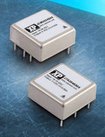 Compact 20 W DC/DC Converters achieve 51 W/in.³ power density.