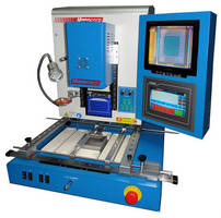 SMD Rework System removes, places, and solders BGAs, CSPs, QFPs.