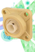 Plastic Flange Mounting Blocks have 4-bolt design.