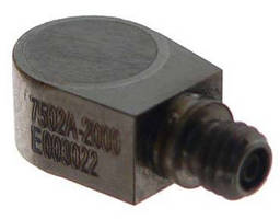 Miniature Accelerometer works in extended temperature ranges.