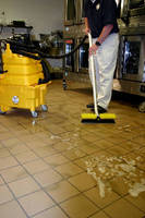 Floor Cleaning System helps reduce slip and fall injuries.