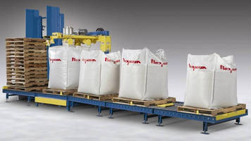 Bulk Bag Filling System features automated operation.