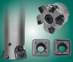 Cutters and Inserts hasten heavy-duty application feed rates.
