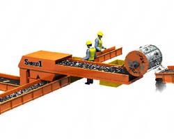 Ballistic Separator produces low-copper shred.