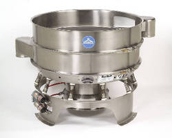 Round Vibratory Separator operates at speeds up to 2,200 rpm.