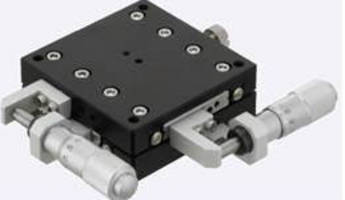 Misumi Adds New Positioning Stages to Line of Low-Cost Standard Precision Positioning Solutions