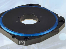 Low-Profile Rotary Table has high-resolution design.