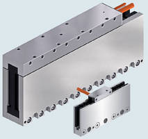 Ironless Linear Motors position small masses with precision.