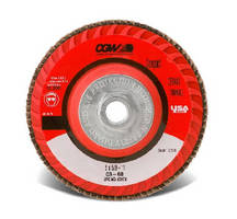 Trimmable Flap Discs handle hard-to-grind materials.