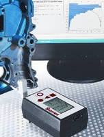 Surface Roughness Tester calculates 10 parameters.