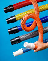 Carpet Cleaning Hose offers flexibility and crush resistance.