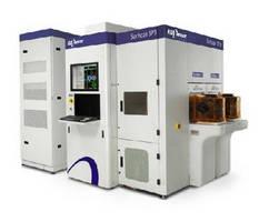 Wafer Inspection System incorporates deep UV illumination.