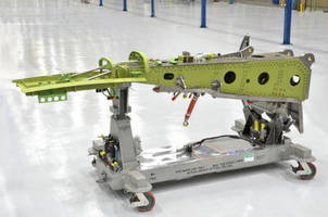 Spirit AeroSystems Celebrates Rollout of First Test Pylon for Bombardier CSeries Aircraft Program