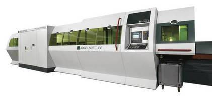 Automated Tube Cutting System utilizes fiber laser resonator.