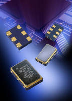 Surface-Mount HCSL Oscillators offer less than 1 psec jitter. .