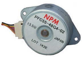 Brushless Stepper Motor suits high torque applications.