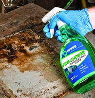 Pine-Based Degreaser is effective against heavy greases.
