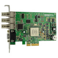 PCIe x4 Frame Grabber for High Resolution, High Quality, Analog Video