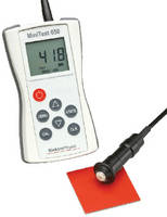 Thickness Gauge measures non-magnetic and insulating coatings.